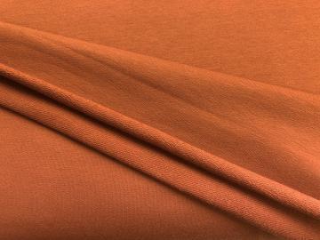 Bio French Terry rost orange