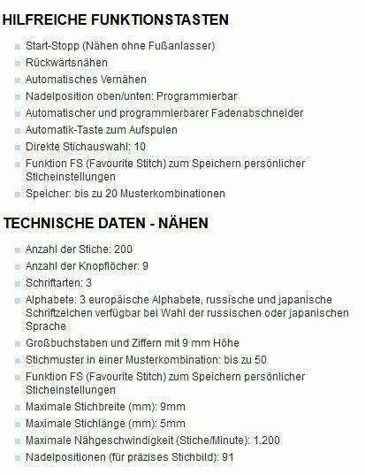 Elna 720 pro + Gutschein