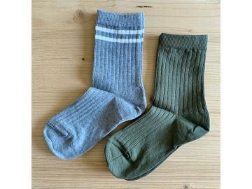 Socken mp Denmark khaki