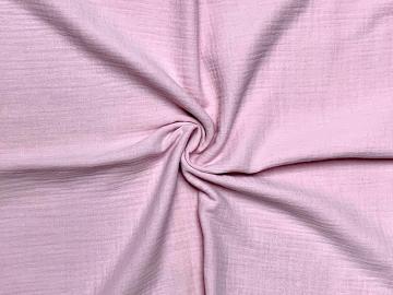 Bio Musselin kaltes hell rosa