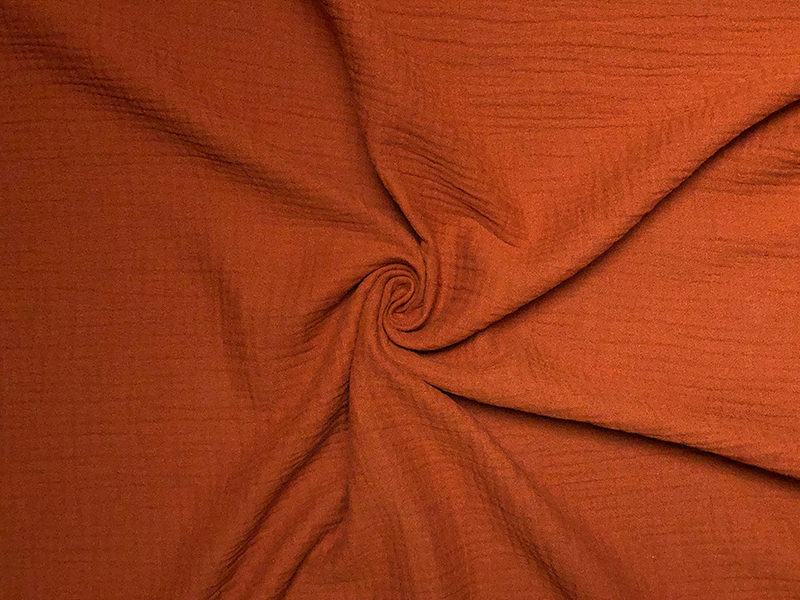 Bio Musselin rost orange