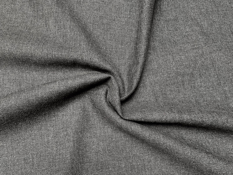 Bio Baumwolle meliert dunkelgrau