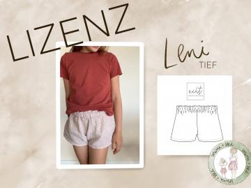 Leni Shorts (tief) Mini-Me Lizenz