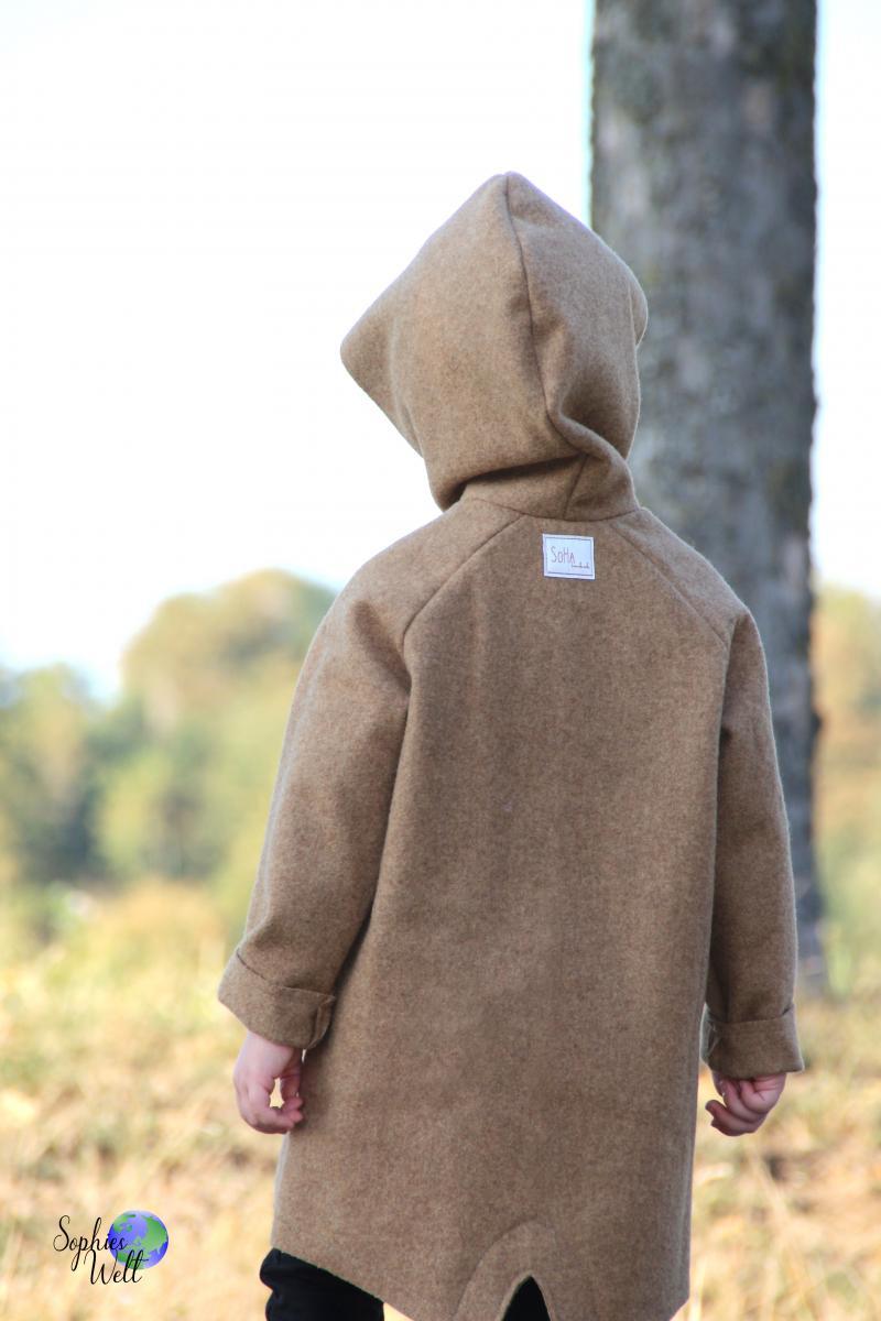 Bio Schurwolle Walk camel
