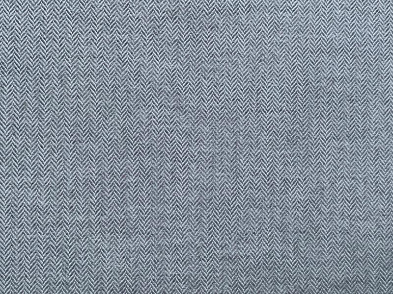 Rest Bio Baumwolle Gewebe Spitzköper grau