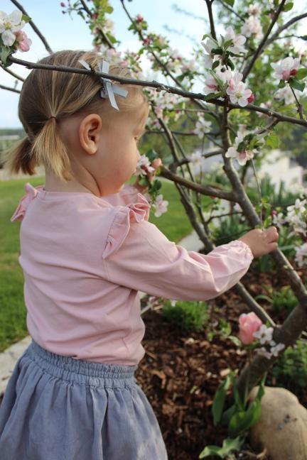 Bio Jersey rauch baby rosa
