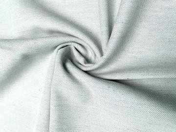 Bio Baumwolle blau-weiß grob gewebt