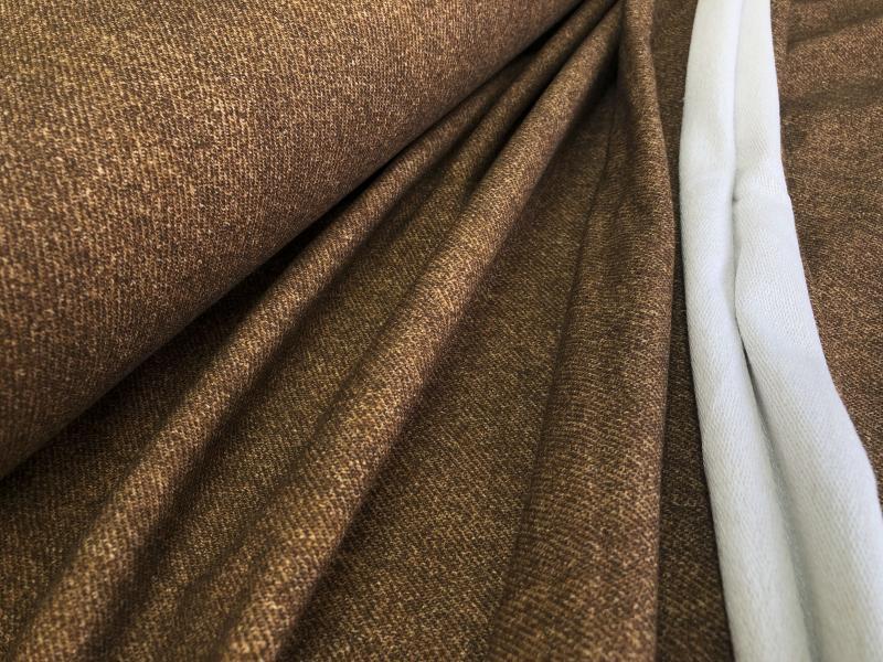 Bio French Terry Jeans optik schoko/karamell