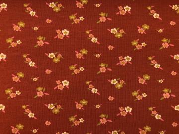 Bio Jersey rost rot Blume