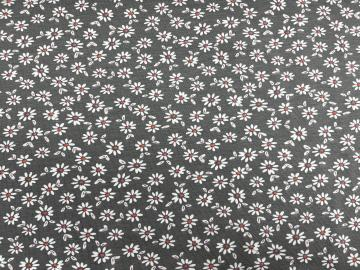 Bio Jersey Gänseblümchen mit Blätter