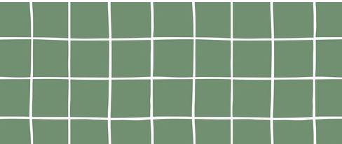 Bio Kuschelsweat Karo grün