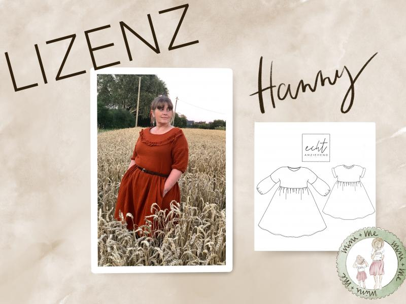 Hanny Mini-Me Lizenz