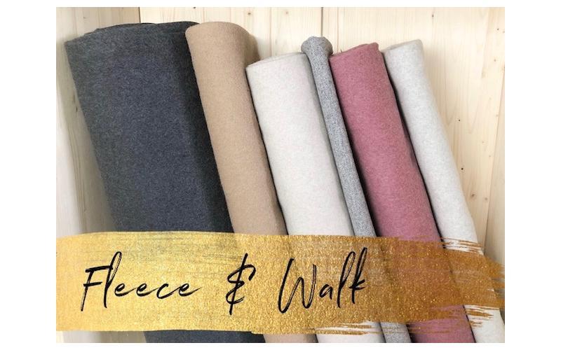 Bio Gots Fleece Wolle Walk